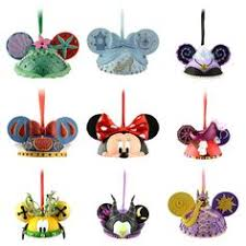 disney ear hat ornaments i want them all http www disneystore
