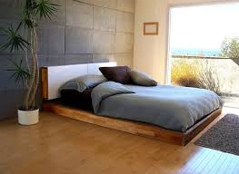 Solid Wood King Headboard by Bed Frames Solid Wood Platform Beds Bed Frame Without Headboard