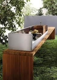 construction cuisine d été extérieure cuisine extérieure bien préparer projet habitatpresto