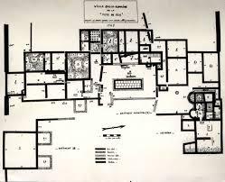 ancient roman villa floor plan 576 2 jpg