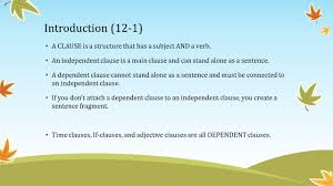 adjective clauses chapter 12 introduction 12 1 an adjective