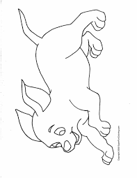 coloring page of dog trendy bulldog lady dog coloring page