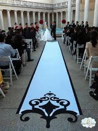 Personalized Aisle Runner Aisle Runner Wedding Aisle Runner Custom Aisle Runner Black