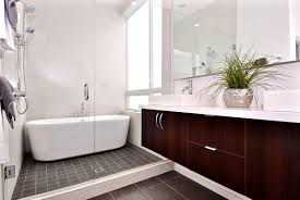 decoration extraordinary wall mounted dark brown wooden bath