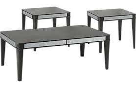 Coffee Table Rooms To Go Living Room Table Sets 2 Piece 3 Piece Glass Etc