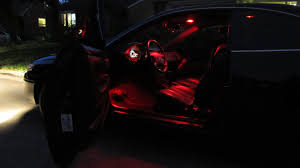 1999 Toyota Solara Interior Custom Color Led Interior Lighting Solara Youtube
