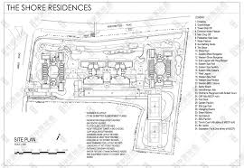 The Shore Floor Plan | site plan jpg