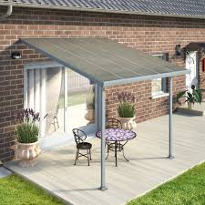 Patio Awning Reviews Palram Feria 10 Ft H X 10 Ft W X 10 Ft D Patio Cover Awning