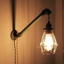 Vanity Light With Plug Plug In Wall Lamp Elegant Bulb Bathroom Vanity Light Fixture