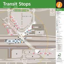 Bart San Francisco Map Stations Livermore Amador Valley Transit Authority Dublin Pleasanton Bart