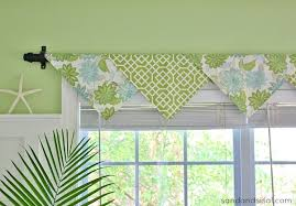 Making A Window Valance The Easiest No Sew Window Treatments Ever Cloth Napkins Sisal
