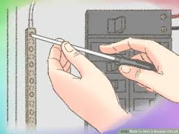 how to wire a breaker circuit with pictures wikihow