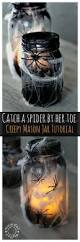 Halloween Jars Crafts by Catch A Spider By Its Toe