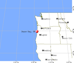 map of oregon lighthouses depoe bay oregon or 97341 profile population maps real
