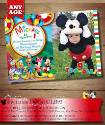 template mickey mouse clubhouse birthday party ideas pinterest