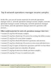 operations manager resume operations manager resume sles