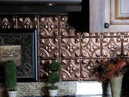 Interior  Faux Tin Tile Backsplash The Gathering Place Design - Tin tile backsplash