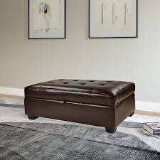 darby home co dumbarton upholstered storage ottoman u0026 reviews