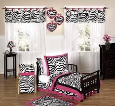 Pink Zebra Crib Bedding Funky Zebra And Pink Toddler Bedding 5pc Set Only 54 99