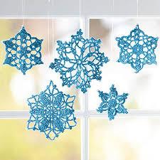 easy crochet tree ornaments