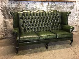 Antique Chesterfield Sofas by 3 Seater High Back Chesterfield Sofa In Leigh Manchester Gumtree