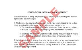 employee confidentiality agreement business forms hrstaff