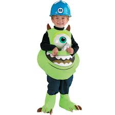 Halloween Costume Boo Monsters Inc Monsters Inc Disney Mike Candy Catcher Child Costume