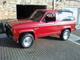 ford bronco ii information and photos momentcar
