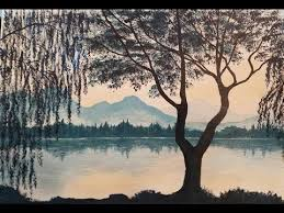 best 25 painted trees ideas on tree water color