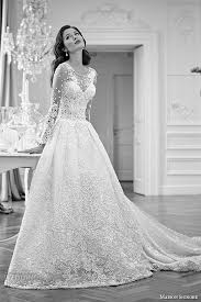 bridal gown maison signore 2016 bridal gowns beautiful a line gown