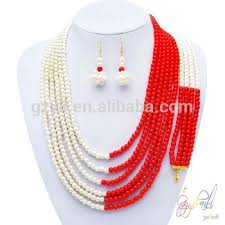 beads necklace sets images Colorful beads jewelry sets long traditional necklace set jpg