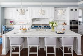Classic Kitchen Colors Traditional Coastal Home With Classic White Kitchen Home Bunch