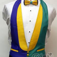 mardi gras ties mardi gras dot vest and bow tie rental mardi gras rental