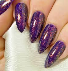 31 purple fake nail designs purple acrylic nail designs biz