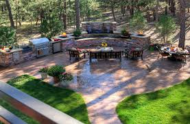 Backyard Stamped Concrete Patio Ideas Stamped Concrete Colors Appealing Backyard Patio Ideas Inovatics