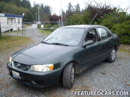2001 toyota corolla value toyota used cars for sale featuredcars com