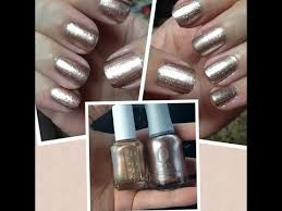 rose gold nails comparison u0026 swatches of orly u0027s rage u0026 essie u0027s