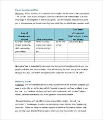 Income Statement For Non Profit Organization Template by Non Profit Business Plan Template 18 Free Word Pdf Documents