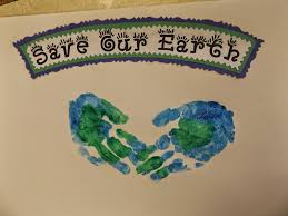 the stuff we do earth day handprints what we do pinterest