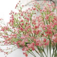 baby s breath flowers artificial baby s breath flowers tres