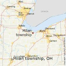 milan ohio map best places to live in milan township ohio