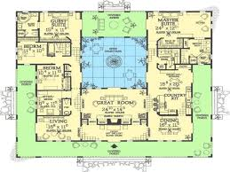 courtyard style house plans house plans with courtyards unique u shaped house floor plans