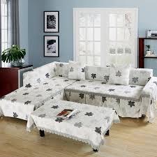 How To Make Slipcover For Sectional Sofa Sofa Slipcover Lshape 2 Sectional Sofa Slipcovers
