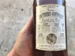 What Proof Is Southern Comfort Southern Comfort 100 Proof 1950s Drinks Planet