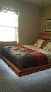 floating headboard ideas bedroom queen platform with storage plans floating frame king
