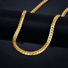 gold colored chain necklace images Mens gold chain necklace rundumsboot club jpg