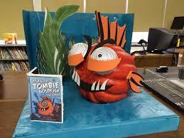 Best Halloween Books For Second Graders zombie goldfish pumpkin book character pumpkin halloween