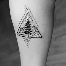 geometric tree design pinteres