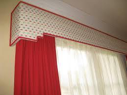 Wood Valance Window Treatments Curtains Window Box Curtains Ideas Wooden Curtain Box Designs