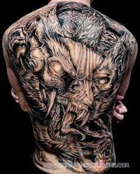 tattoo dragon full back dark ink dragon tattoo on full back tatoveringer pinterest